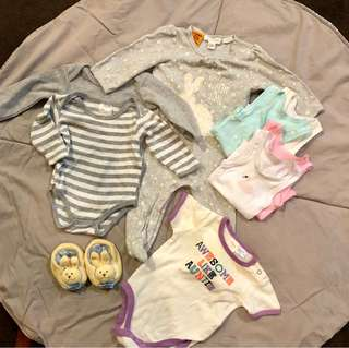 Baby Girls Bundle 0-3 months