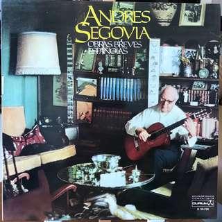 Andres Segovia Spanish Guitar Music DURIUM 30.230