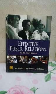 Buku efective public relation