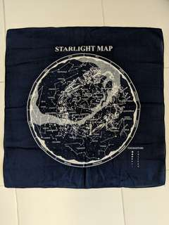 STARLIGHT MAP Scarf