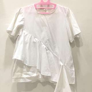 Side Tail blouse