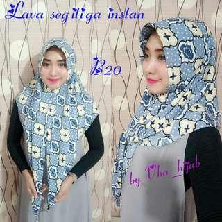 Vha_hijab Segitiga Instan