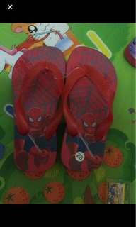 Free mail! Brand new 17cm spiderman shoes