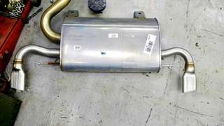 Volvo S60 T5 (2015-2018) original muffler box with tail pipe ( Exhaust)