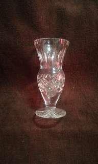 Vintage Small Crystal Vase