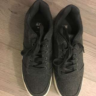 H&M Grey Shoes Size39