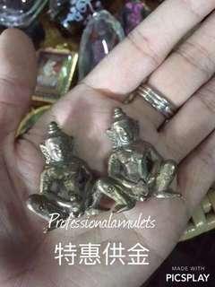 泰國佛牌佛像【特惠供金】鲁士那樂 早期製固神尼 佛牌
