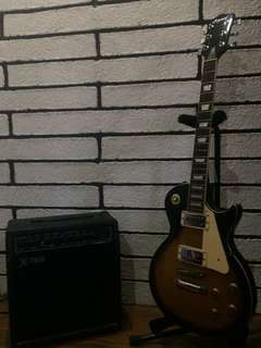 Legend Les paul with Guitar Amplifier (NEGOTIABLE)