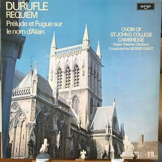 Durufle Requiem Choir of St. John's College Cambridge ARGO 787