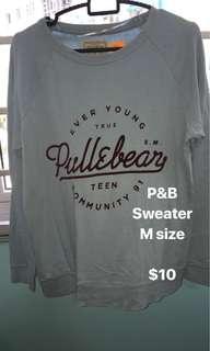 Pullover p&B