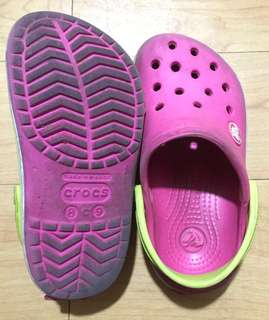 Pre-loved original Crocs bought from US