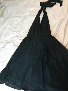 ASOS halter neck dress LBD