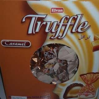 Coklat trufle meleleh dari turki(2kg)