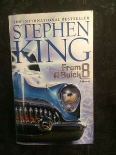 Stephen King. From a Buick 8