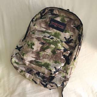 CAMO Jansport Bag