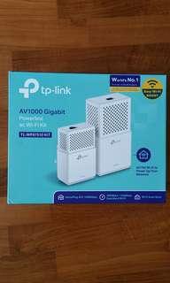TP Link AV1000 Gigabit Powerline ac WiFi Kit TL-WPA 7510 KIT