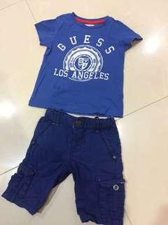 Guess Shirt Boy Set
