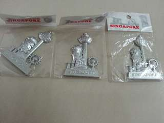 Singapore Fridge Magnet x 1