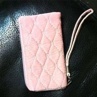 🚚 粉紅色 手拿包 隨身包 收納包