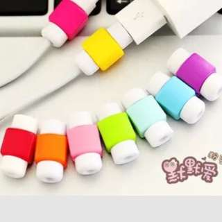 Candy Colored Cable Cord Protector