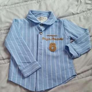 New long sleeve shirt for Boy
