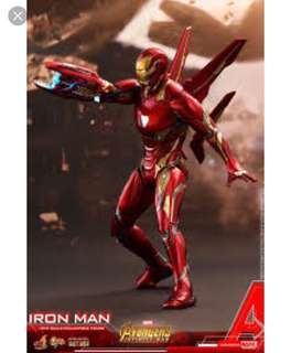 Hot toys iron man mark 50 (pre order)