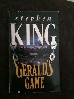 Stephen King. Gerald's Game.