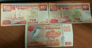 Singapore Notes Auction