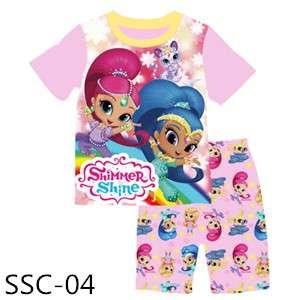 Shimmer and Shine T-shirt set