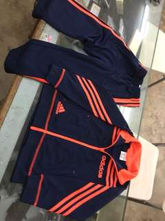 Adidas Track suit size 5