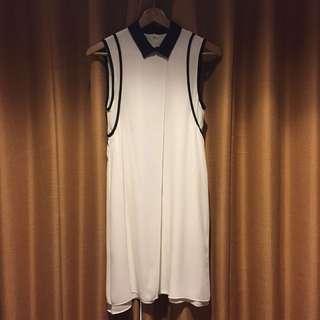 White dress made in australia (little defect)