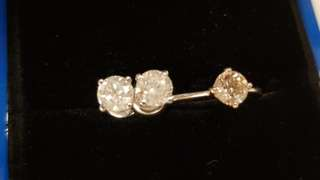 White Gold Diamond Earrings (1.34CT TCW) with Certificate