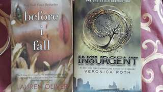 Before I Fall and Insurgent