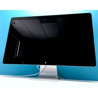 """Apple 27"""" Thunderbolt Display HD Monitor / Adapter Included / 1 Year Warranty!"""