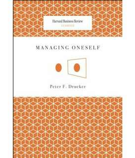 eBook - Managing Oneself by Peter Drucker