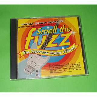 CD VARIOUS ARTISTS: GUITAR THAT RULE THE WORLD, VOL 2 – SMELL THE FUZZ / THE SUPERSTAR GUITAR ALBUM (1996) INSTRUMENTAL GUITAR VIRTUOSO
