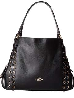 Coach edie shoulder bag 31 with coach link detail