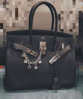 Hermes 5 bags charm
