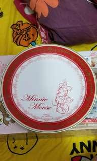 全新日本製世嘉景品米奇米妮陶瓷碟1盒2隻
