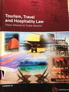 Tourism, Travel and Hospitality Law Second Edition