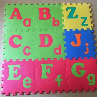 Alphabets and Numbers Foam Mat