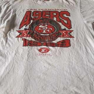 49ERS | 1990 NFC vintage T Shirt Champions