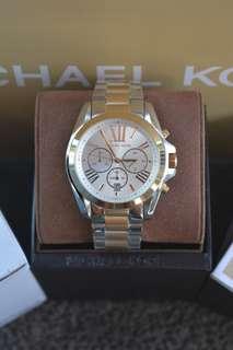 Michael Kors Oversized Bradshaw Two-Tone Watch (MK5627)