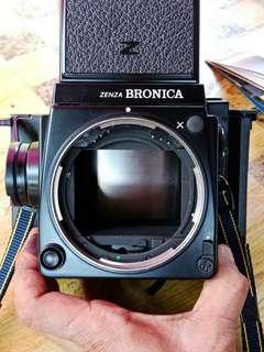 BRONICA ZENZA GS-1 untuk Dlepaskn SEGERA