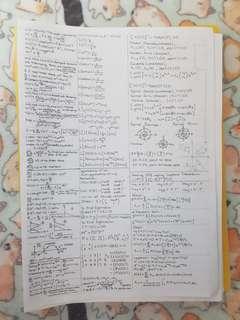MA1512 MA1513 Notes