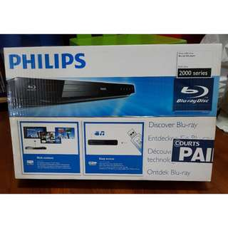 Brand New and Sealed Philips brand Blu-ray Player