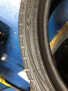 """Archilles 19"""" tyre full set staggered for bmw"""