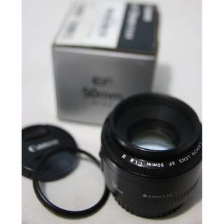 CANON EF 50MM F 1.8 II Prime Lens
