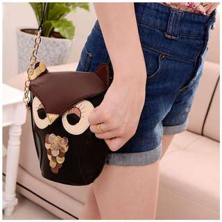 OWL CHAIN SLING BAG