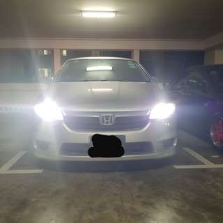 Honda  Stream on S2 COB LED headlight 6500k headlight super white - cash&carry (read Description)